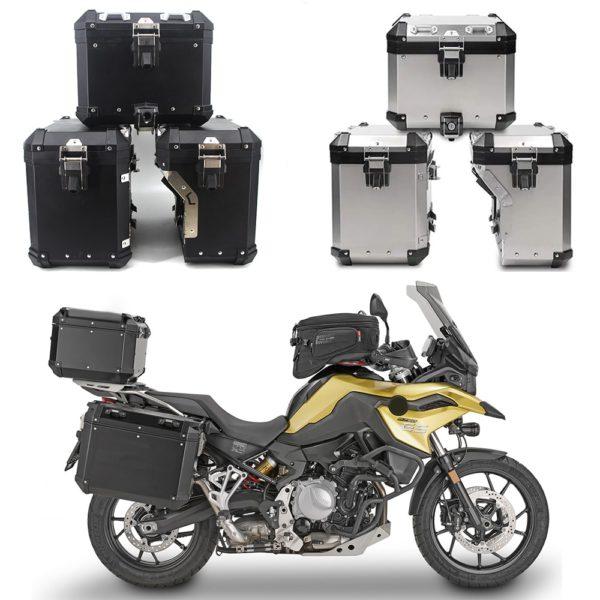 FAdventure Motorcycle Panniers Saddlebag Top Case Box