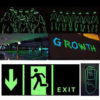 Luminous Tape 12MM 3M Self-adhesive Tape Night Vision Glow In Dark Safety Warning Security Stage Home Decoration Tapes 1