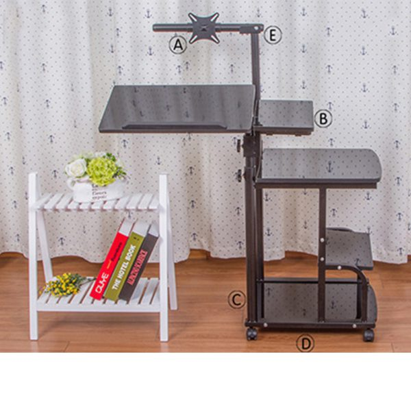 Large size Desktop  computer Table Adjustable Portable Laptop Desk Rotate Laptop Bed Table Can be Lifted Standing Desk 2
