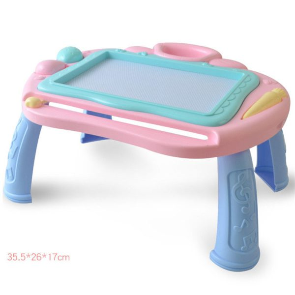 Multi-Function Big Size Magnetic Drawing Board Desk Toys Painting Doodle Games For Children Girls Educational Writing Table Toy 1