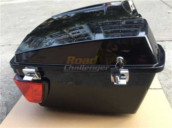 Motorcycle Rear Storage Box Tail Luggage 1