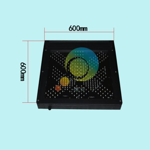 Easy installation high way toll station 600mm red green led traffic light for promotion 4