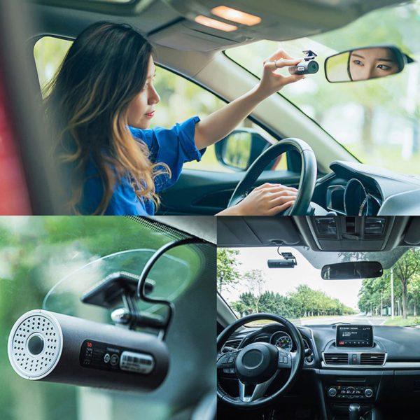 70mai Dash Cam Car DVR Wifi APP Voice Control 70 Mai Dash Cam 1S FHD 1080P Night Vision Car Camera Auto Video Recorder G-sensor 5