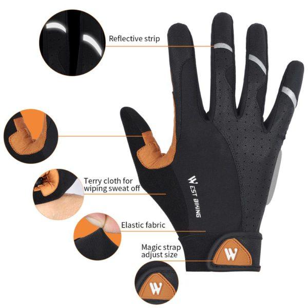WEST BIKING Cycling Gloves 2
