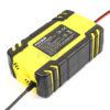 FOXSUR 12V 24V 8A Automatic Smart Battery Charger, 3-stage smart Battery Charger, Car Battery Charger for GEL WET AGM Battery 1