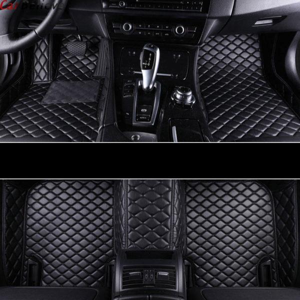 Car Believe car floor mat For hyundai veloster tucson 2019 accent 2008 sonata 2011 solaris 2011 elantra accessories carpet rugs 4