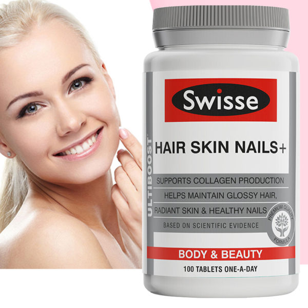 Australia Swisse Hair Skin Nails Collagen Tablets