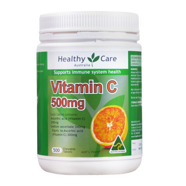 Australia Healthy Care Vitamin C 500mg 5