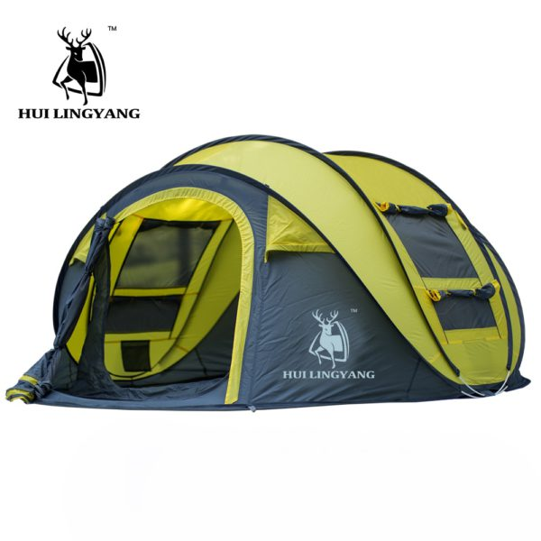 HUI LINGYANG throw tent outdoor automatic tents