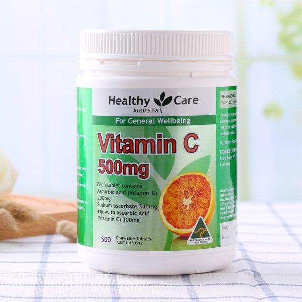 Australia Healthy Care Vitamin C 500mg 2