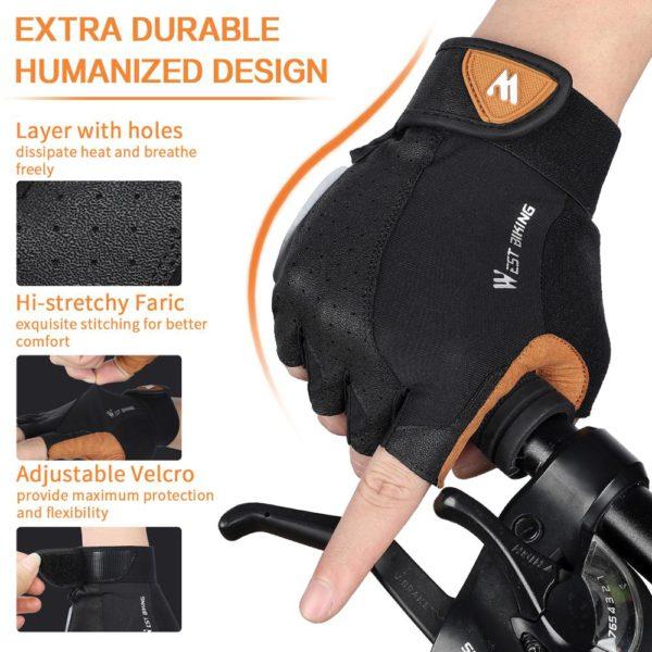 WEST BIKING Cycling Gloves 4