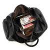 MAHEU Natural Cow Skin Travel Bags Waterproof Men's Leather Luggage  5