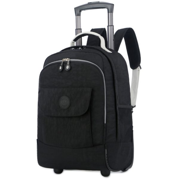 Rolling Luggage Travel Backpack Shoulder Spinner Backpacks 1