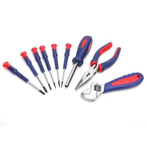 WORKPRO Home Tool Set Household Tool Kits Socket Set Screwdriver Set Home Repair Tools for DIY Hand Tools 3