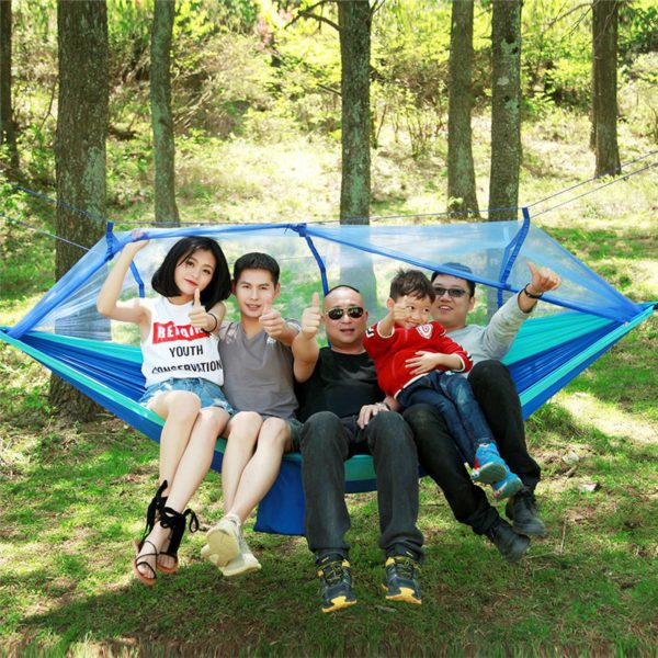 Portable Mosquito Net Hammock Tent With Adjustable Straps 4